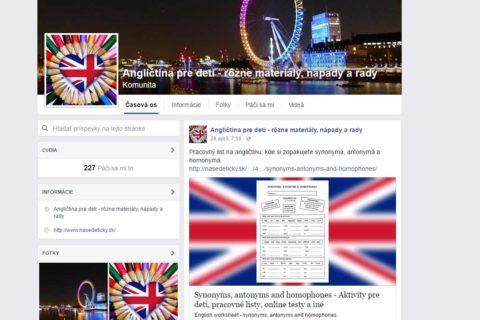 Profil pre Angličtina