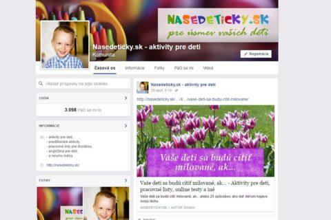 Profil pre Nasedeticky.sk